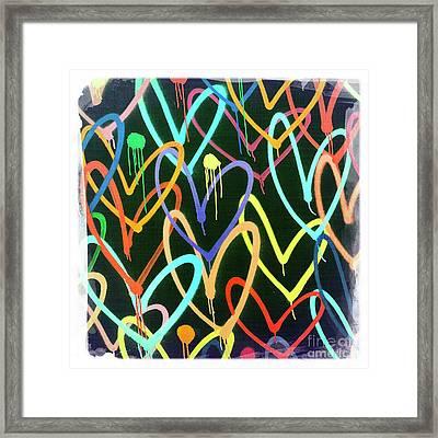 Heart 4 Framed Print