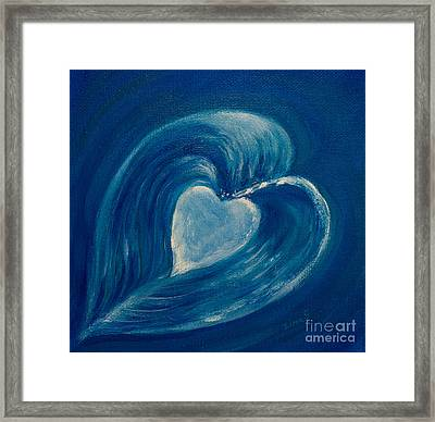 Heart Abstract Framed Print