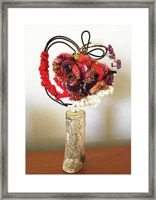 Heart Art Framed Print