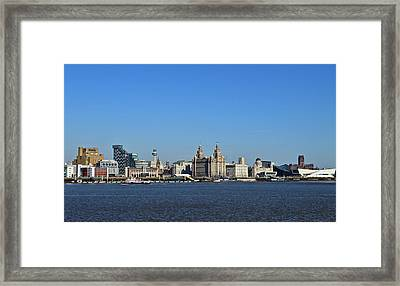 Heart As Big As Liverpool Framed Print
