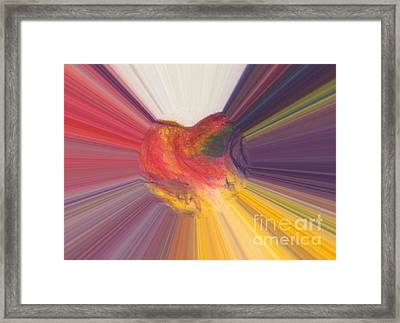 Heart Beats Framed Print by Vicki Lynn Sodora