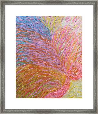 Heart Burst Framed Print