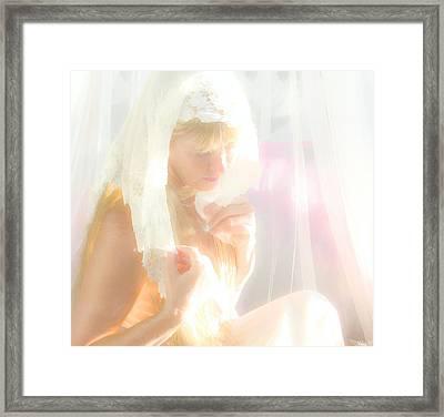 Heart Drop Framed Print