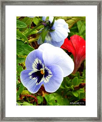 Heart Ease Framed Print