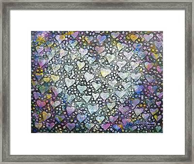 Heart Felt Framed Print