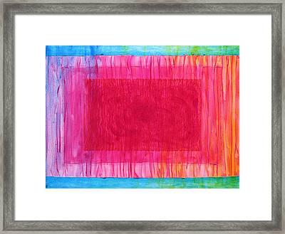 Heart Flow Framed Print by Tom Hefko