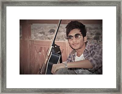 Heart Hacker..... Framed Print by Madhusudan Bishnoi