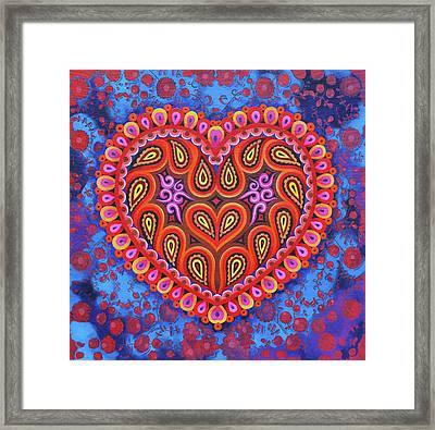 Heart Framed Print by Jane Tattersfield