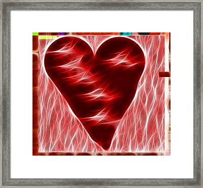 Heart  Framed Print by Kevin  Sherf
