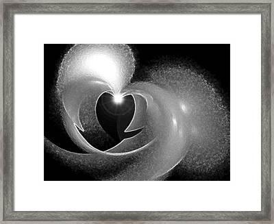 Heart Light Framed Print