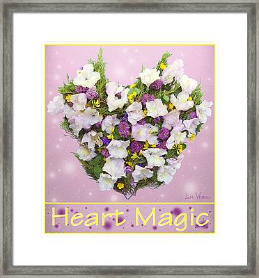 Heart Magic Framed Print by Lise Winne