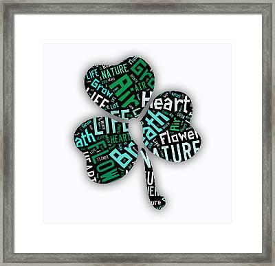 Heart Framed Print by Marvin Blaine