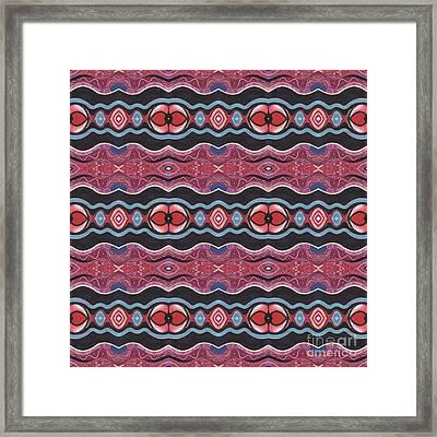 Heart Matters - T J O D 34 Arrangement 1 Tile Framed Print by Helena Tiainen