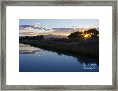 Heart Mountain Framed Print