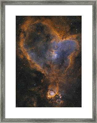 Heart Nebula Framed Print