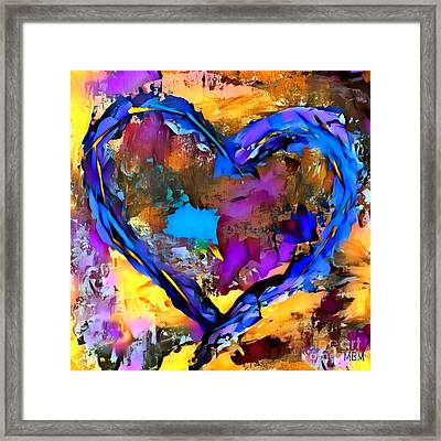 Heart No 7 Framed Print