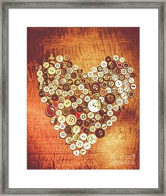 Heart Of A Tailor Framed Print by Jorgo Photography - Wall Art Gallery