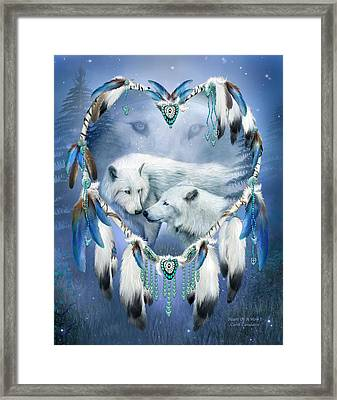 Heart Of A Wolf 3 Framed Print