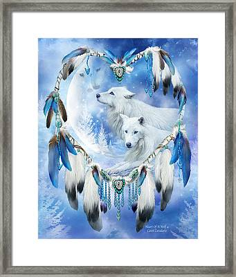 Heart Of A Wolf 4 Framed Print