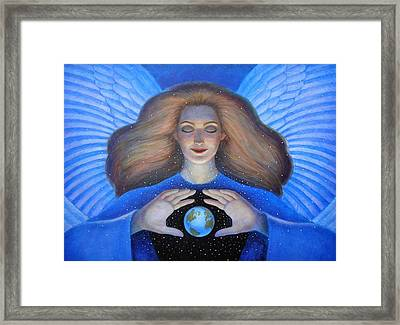 Heart Of Creation Framed Print
