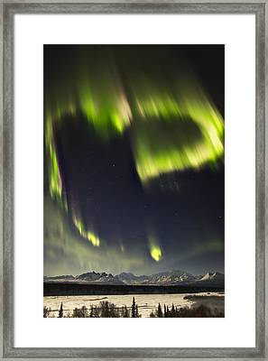 Heart Of Denali Framed Print by Ed Boudreau