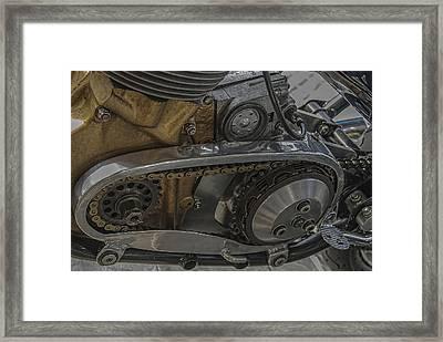 Heart Of Gold Framed Print by M Gordon Johnson