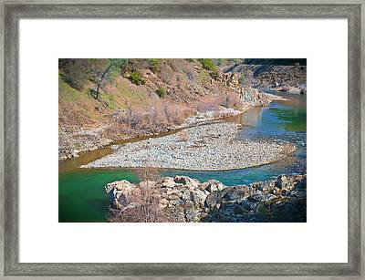 Framed Print featuring the photograph Heart Of Gold by Sherri Meyer