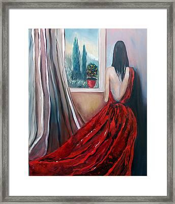 Heart Of Mine Framed Print by Niki Sands