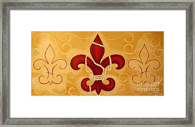Heart Of New Orleans Framed Print