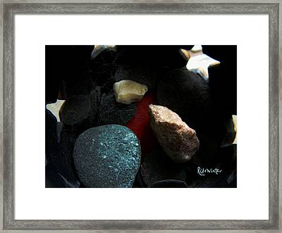 Framed Print featuring the photograph Heart Of Stone by RC DeWinter