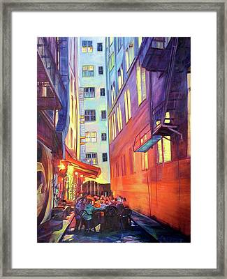 Heart Of The City Framed Print by Bonnie Lambert