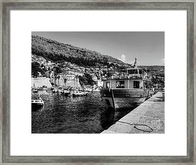 Heart Of The Harbour Framed Print