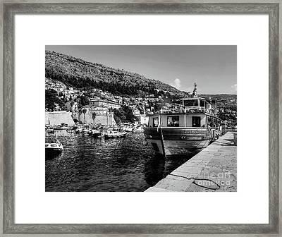 Heart Of The Harbour Framed Print
