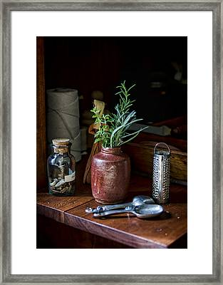 Heart Of The Home Framed Print by Heather Applegate