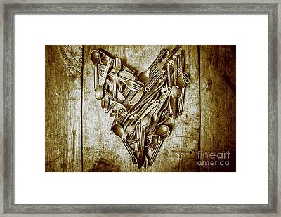 Heart Of The Kitchen Framed Print