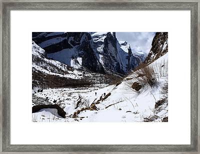 Heart Of The Mountain Framed Print