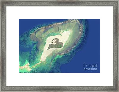 Heart Of The Ocean Framed Print