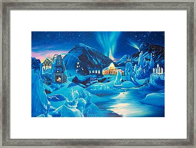 Heart Of The Sunrise With Lost Dreamer Framed Print by James McCarthy
