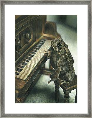 Heart Of The Symphony Framed Print by Cara Bevan