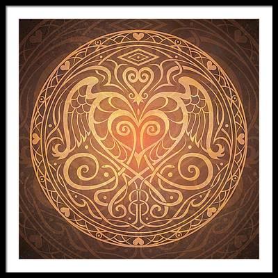 Meditative Framed Prints