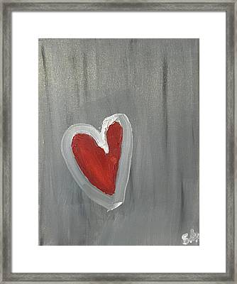 Heart  Framed Print by Shawn Marlow