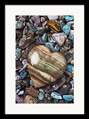 Rock Art Framed Prints