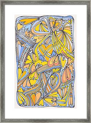 Heart Strings Framed Print by Linda Kay Thomas