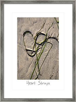Heart Strings Framed Print by Peter Tellone
