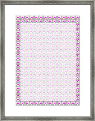 Templates Diy Download For Printing Invitations Or Create A Wedding Blessing Signature Board Framed Print