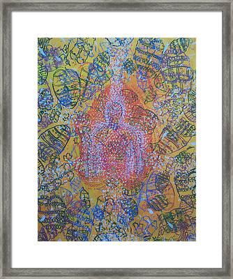 Heart Vortex Framed Print