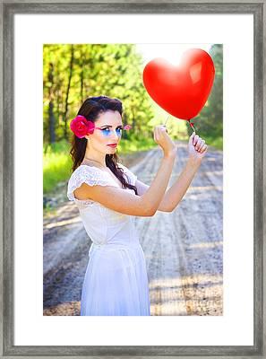 Heartache And Heartbreak Framed Print by Jorgo Photography - Wall Art Gallery