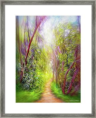 Heartbeat Of The Trail Framed Print