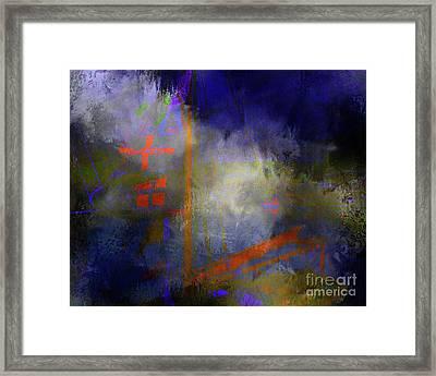 Heartbreak Framed Print