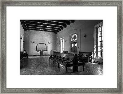 Heartbreak Station Framed Print